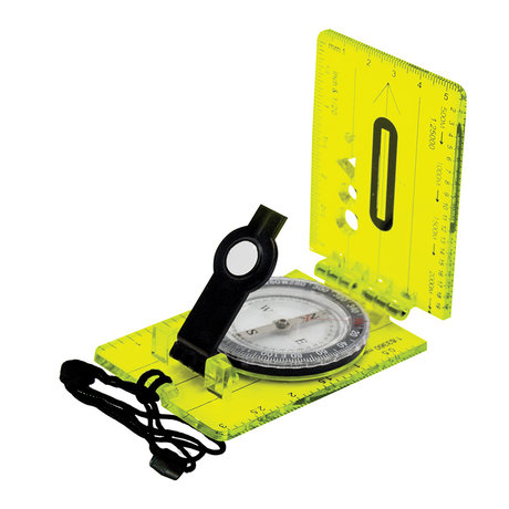 Картов компас UST Brands Hi Vis Lensatic