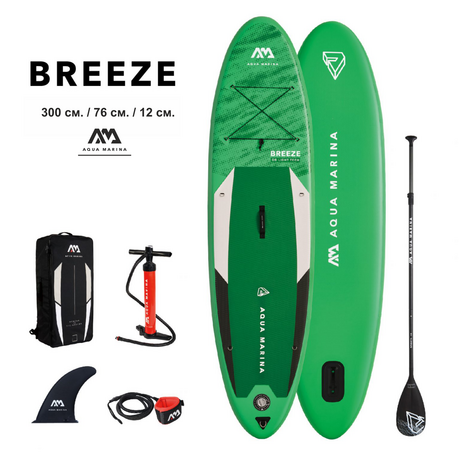 Надуваем SUP Aqua Marina Breeze 9`10""