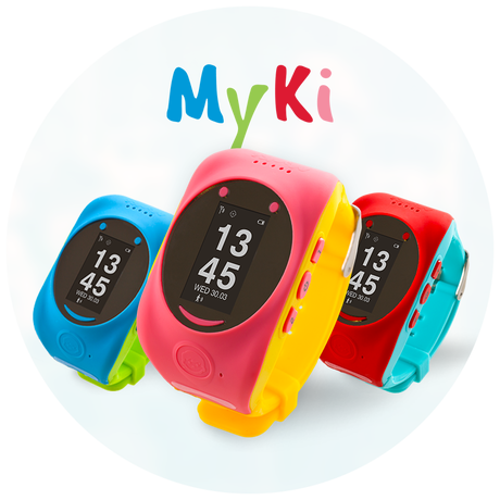 MyKi - Kids GPS and GSM smart watch