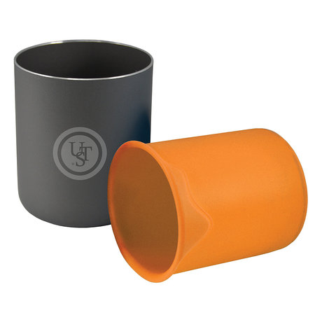 Double Up Cup for Camping, Orange | UST