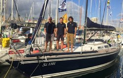 Bulgarian Sailing Yacht Furia sunk during the OSTAR & TWOSTAR Race. Crew rescued.