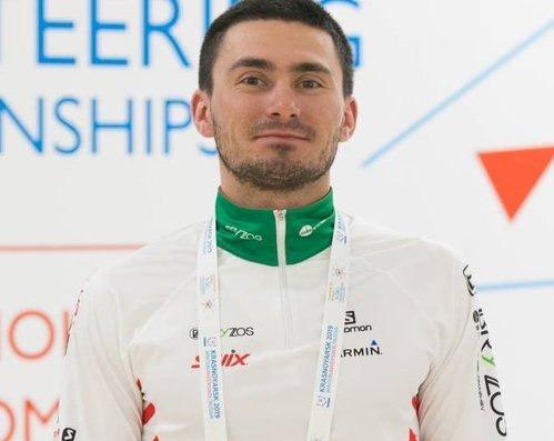 Stanimir Belomazhev new Bulgarian world champion in  Ski Orienteering