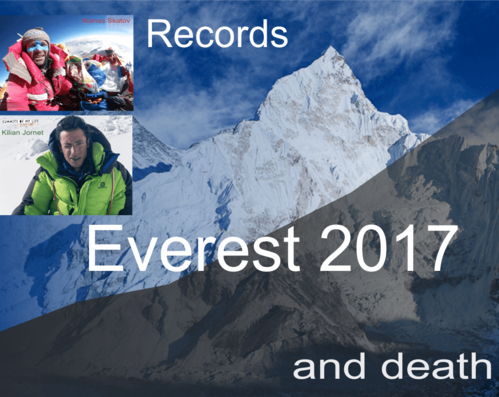 Everest 2017 - Records, Achievements, Crowds, Tragedies, and Mysteries