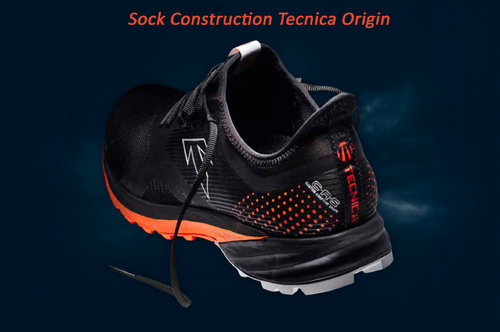 Sock construction second skin система от Tecnica Origin Trail