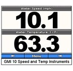 GST™ 10, Water Speed and Temp Adapter